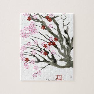 fleurs de cerisier 11 Fernandes élégant Puzzle