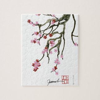 fleurs de cerisier 12 Fernandes élégant Puzzle