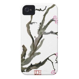 Fleurs de cerisier 15 Fernandes élégant Coque Case-Mate iPhone 4