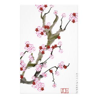 Fleurs de cerisier 16 Fernandes élégant Papier À Lettre Customisable