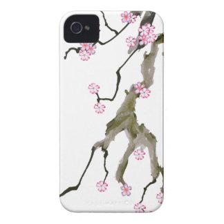 Fleurs de cerisier 17 Fernandes élégant Coques Case-Mate iPhone 4