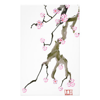 Fleurs de cerisier 17 Fernandes élégant Papier À Lettre Personnalisé