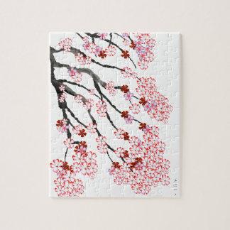 Fleurs de cerisier 18 Fernandes élégant Puzzle