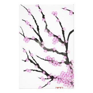 Fleurs de cerisier 21, Fernandes élégant de Sakura Papiers À Lettres
