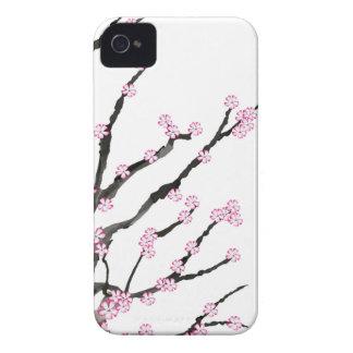 Fleurs de cerisier 23, Fernandes élégant de Sakura Coque Case-Mate iPhone 4
