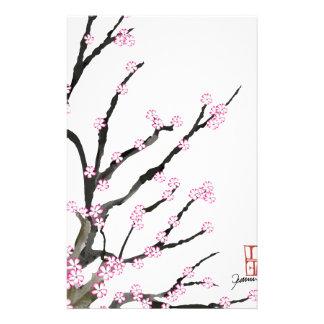 Fleurs de cerisier 23, Fernandes élégant de Sakura Papier À Lettre Customisable