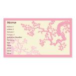 Fleurs de cerisier - affaires modèle de carte de visite