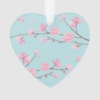 Fleurs de cerisier - bleu de ciel - ANNIVERSAIRE