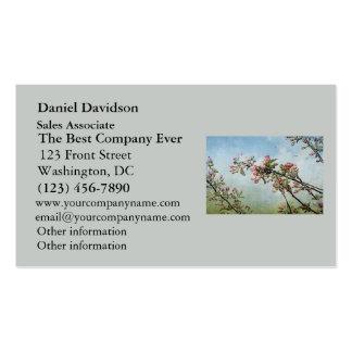 Fleurs de cerisier cartes de visite professionnelles
