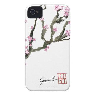 Fleurs de cerisier élégantes 8 de Fernandes Coque iPhone 4