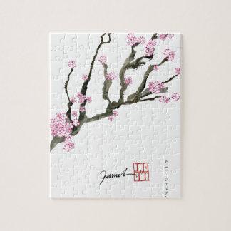 Fleurs de cerisier élégantes 8 de Fernandes Puzzle