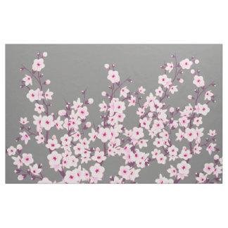 tissu fleurs cerisier pour loisirs cr atifs couture. Black Bedroom Furniture Sets. Home Design Ideas