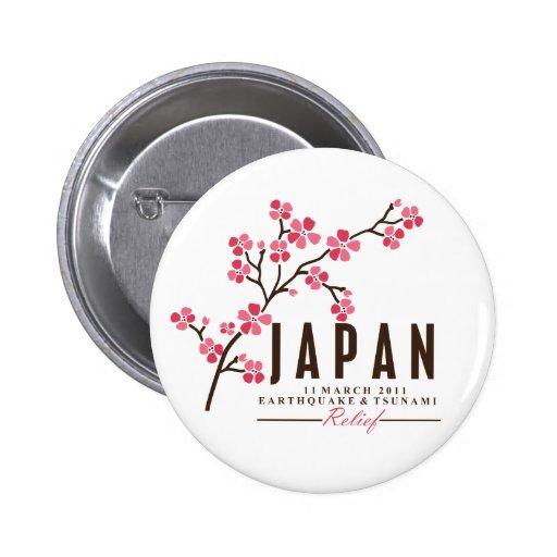 Fleurs de cerisier - japon badges