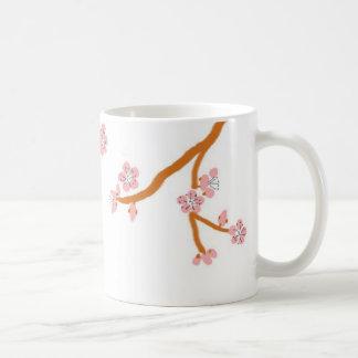 fleurs de cerisier mug