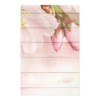Fleurs de cerisier papier à lettre