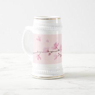 Fleurs de cerisier - rose chope à bière