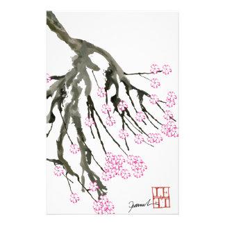 Fleurs de cerisier roses 24, Fernandes élégant Papier À Lettre