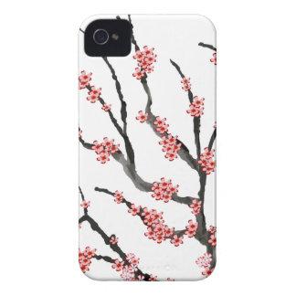 Fleurs de cerisier roses 25, Fernandes élégant Coque iPhone 4 Case-Mate