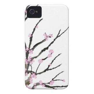 Fleurs de cerisier roses 27, Fernandes élégant Coques iPhone 4