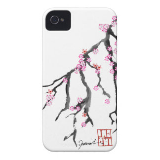 Fleurs de cerisier roses 28, Fernandes élégant Coque Case-Mate iPhone 4