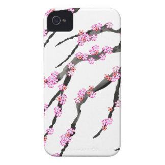 Fleurs de cerisier rouges 32, Fernandes élégant Coque iPhone 4 Case-Mate