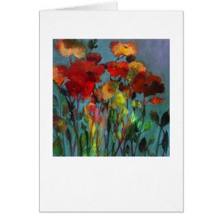 Fleurs de champ • Michelle Abrams - carte