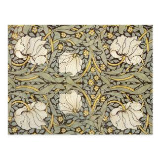 Fleurs de cru de William Morris Cartes Postales