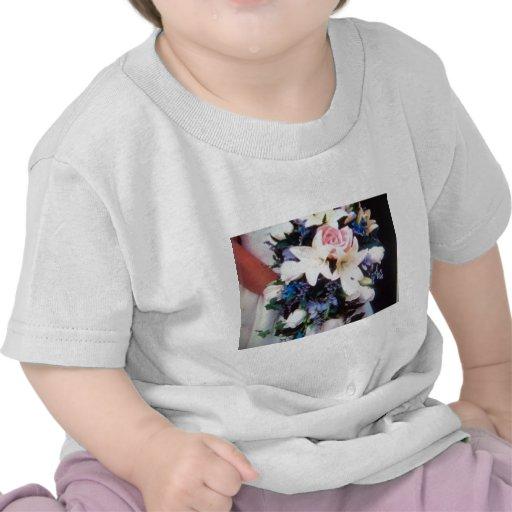 fleurs de mariage t-shirt