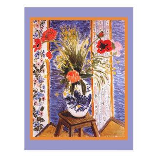 Fleurs de Matisse dans une cuvette Carte Postale