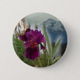 Fleurs de montagne badge