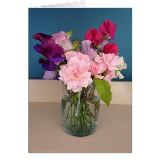 Fleurs de ressort - carte de voeux