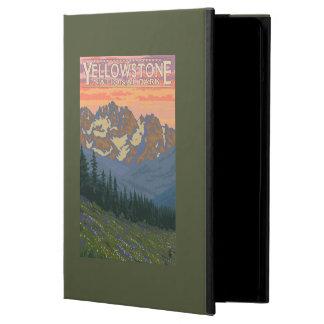 Fleurs de ressort - parc national de Yellowstone