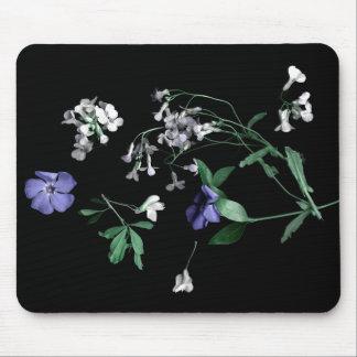 Fleurs de ressort sur Mousepad noir Tapis De Souris