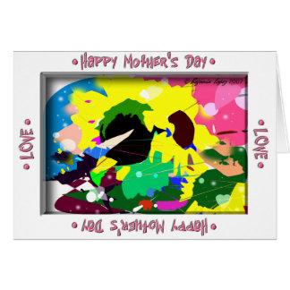 Fleurs de Sun pour la maman Carte De Vœux