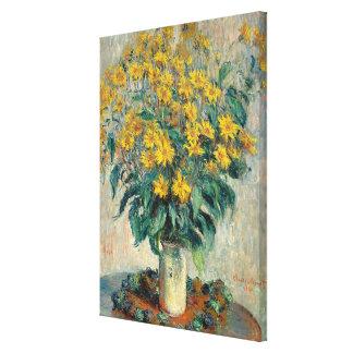 Fleurs de topinambour, 1880 (huile sur la toile) toiles
