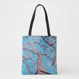 Fleurs de Tour Eiffel de Paris dans le sac