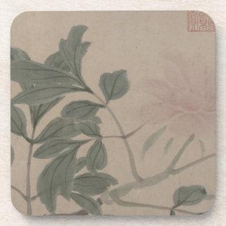 Fleurs des quatre saisons - Shen Zhou Dessous-de-verre