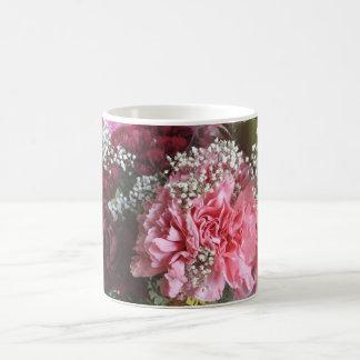 Fleurs d'oeillet mug
