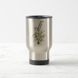 Fleurs du muguet mug de voyage