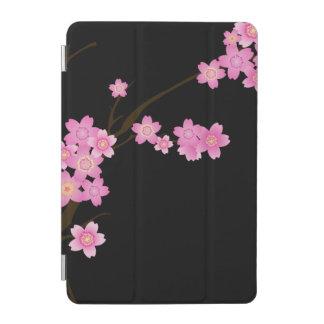 Fleurs en fleur, fleurs de cerisier - noir rose protection iPad mini
