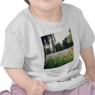 Fleurs en parc t-shirt