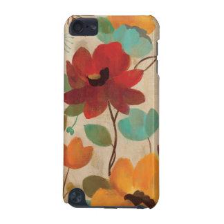 Fleurs et bourgeons colorés coque iPod touch 5G