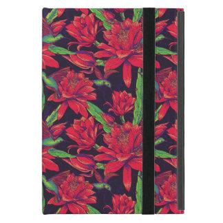 Fleurs et colibris protection iPad mini