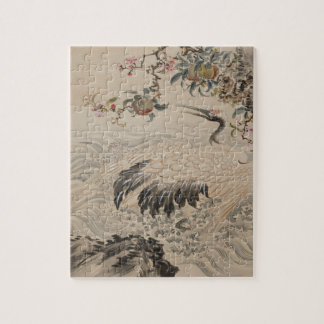 Fleurs et oiseaux - Japonais (période d'Edo) Puzzle