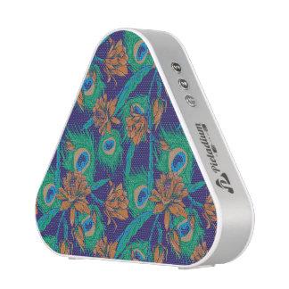 Fleurs et plumes haut-parleur bluetooth