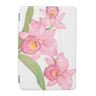 Fleurs exotiques roses d'aquarelle protection iPad mini