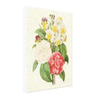 Fleurs florales vintages de jonquille de Camelia Toiles