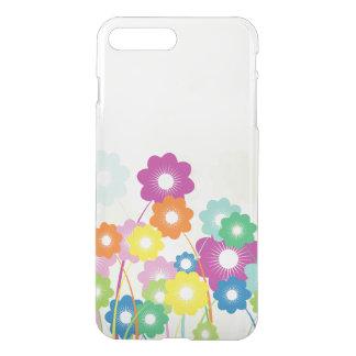 Fleurs lumineuses coque iPhone 7 plus