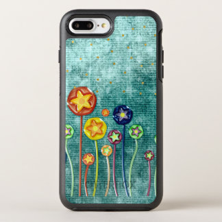 Fleurs lunatiques coque otterbox symmetry pour iPhone 7 plus