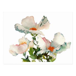 Fleurs mûres abstraites cartes postales